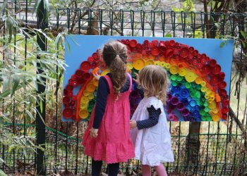 Wildflower Festival sculpture kids (no permission yet)